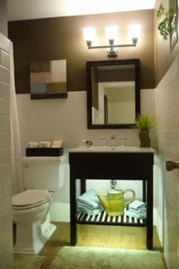 Small bath 5 ways to maximize space angie 39 s list - Maximize space in small bathroom ...
