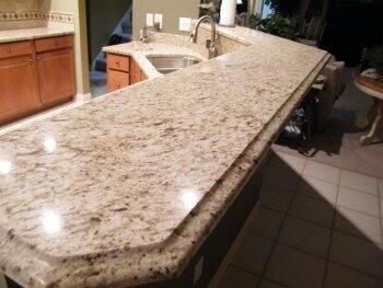 Ogee Edge Granite Kitchen Countertop