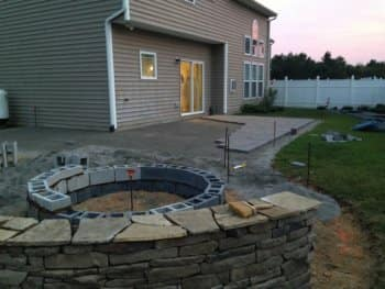 Raleigh Companyu0027s Concrete Paver Patio Transforms Backyard | Angieu0027s List