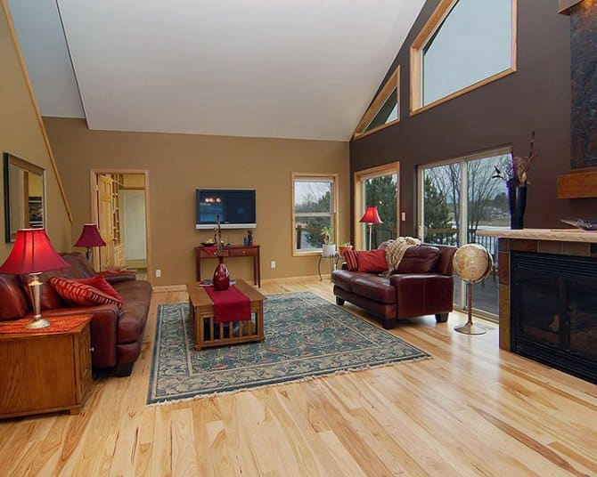 appealing living room door designs | Living Room Design with Large Sliding Glass Doors and ...