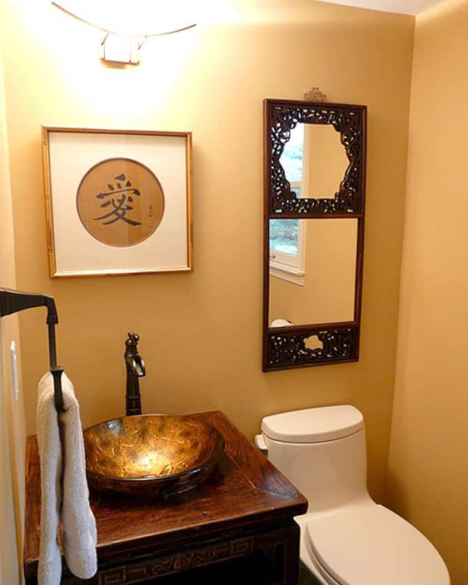 Bathroom remodel with vessel sink angie 39 s list for Pics of small bathroom remodels