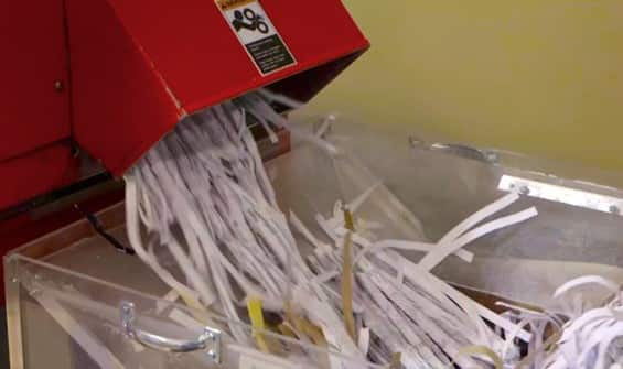Video: Organize Your Home with Paper Shredding