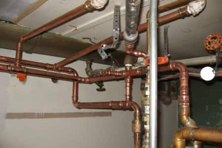 Is there lead in copper or brass plumbing pipes angie 39 s for Plastic vs copper water pipes