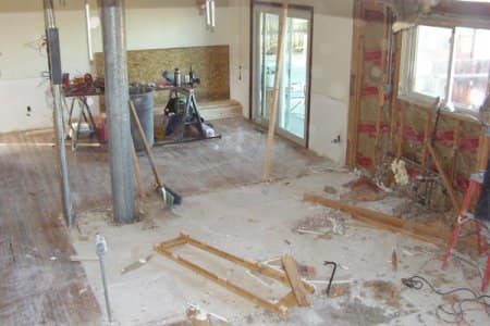 Home demolition is a process that requires specific methods to be followed to ensure that the job is done correctly the first time, says Lindus. (Photo courtesy of Angie's List member Barb H. of Colorado Springs, Colorado)