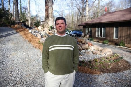 Angie's List member Shane Bernard of Charlotte, N.C., hired a company to install an extensive home automation system. (Photo by Ray Black III)