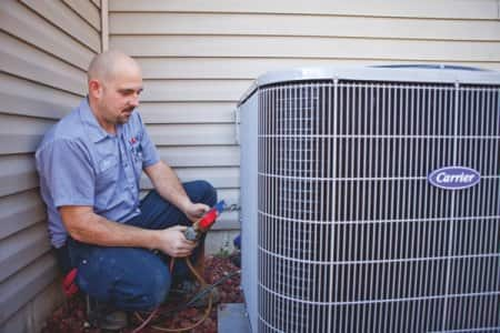 A/C worker testing unit