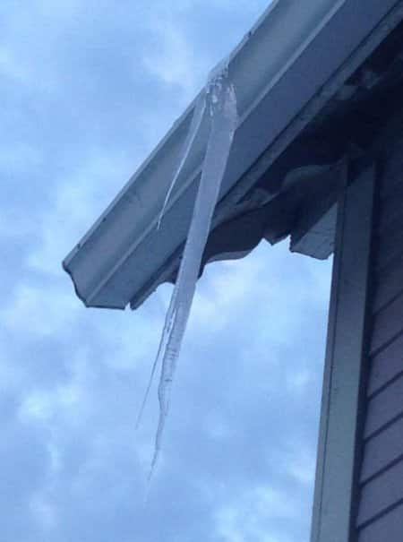 How Can I Thaw A Frozen Gutter Or Downspout Angie S List