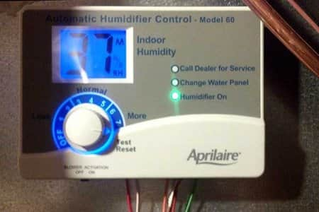 thermostat for humidifier