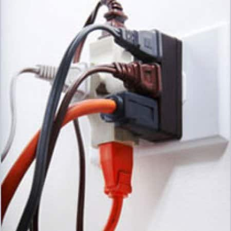 5 ways to prevent electrical fires angie s list rh angieslist com Home Electrical Wiring Old Wiring Types