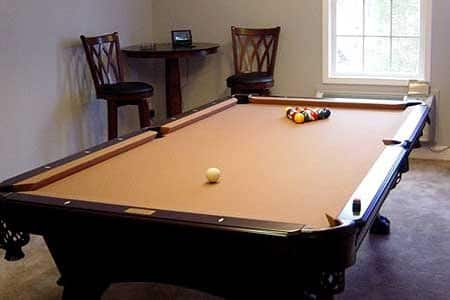 if considering adding a billiard table to your home decide whether you want to purchase