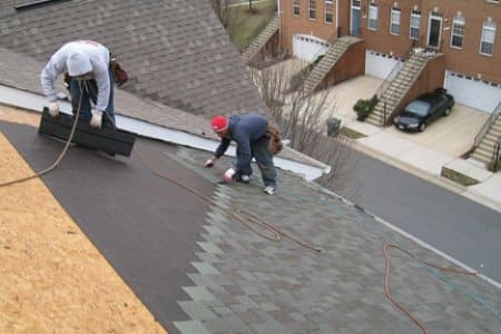 4 common roof types asphalt shingles angie 39 s list for Roofing tar on shingles