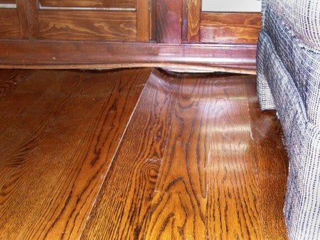 Hardwood Floors From Buckling