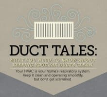 Duct Tales: What you need to know about cleaning your home's air ducts