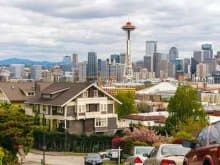 Elevated at 456 feet, the Queen Anne neighborhood is known for its spectacular views of downtown Seattle and 19th-century architecture. (Photo by Mike Penney)