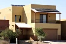 This home is now solar powered and takes full advantage of the desert sun, thanks to a local service provider found on Angie's List. (Photo courtesy of Angie's List member David S. of Tucson, Ariz.)