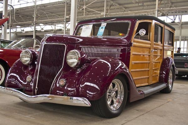 Some classics, such as this 1936 Ford Woodie built by Boyd Coddington, may appreciate over time - make sure your insurance covers it. (Photo by Brandon Smith)
