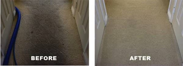 A good cleaning can make carpet look new again. (Photo courtesy of Angie's List member Mike V. of Lorton, Va.)