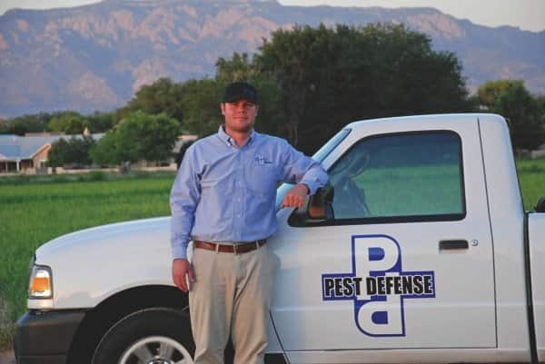 Pest Defense Solutions co-owner Justin Sego says his company specializes in termites and bed bugs with plans to add weed control services. (Photo courtesy of Justin Sego)