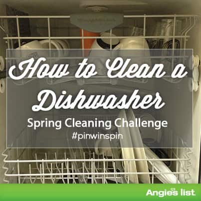 how to clean inside of dishwasher with tang
