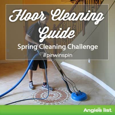 tips for cleaning your floors