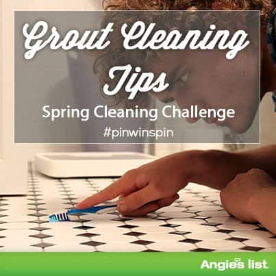 tips for grout cleaning