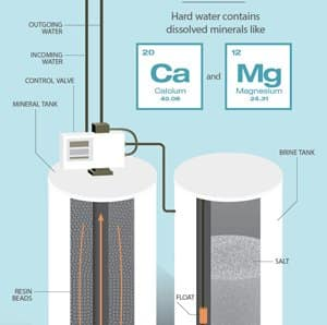 The Hard Facts of Water Softeners Infographic