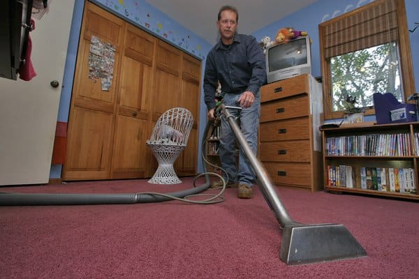"""JEJ Masterclean owner James Jassak says his favorite part of his job is being in the field. """"I want to build lifetime relationships with my customers,"""" he says. (Photo by Jay Madden)"""