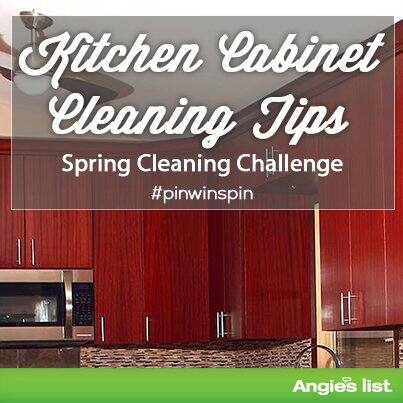Tips for dusting kitchen cabinets