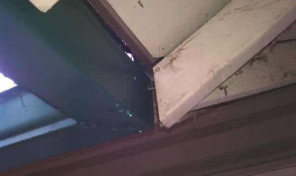 Angie's List member Stacy Gingerich says Green Home Renovations didn't install flashing correctly on her roof. (Photo courtesy of Stacy Gingerich)