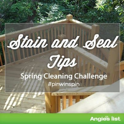 Stain and seal tips