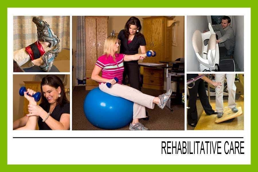 Rehabilitative care can help individuals restore, regain or improve various aspects of their health. Rehabilitation specialists can help find a better quality of life through different treatment and therapy options.