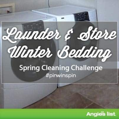 Tips to launder and store winter bedding