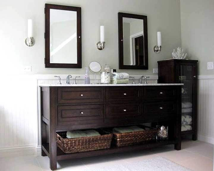 Bathroom Remodel With Double Sink Vanity. U201c