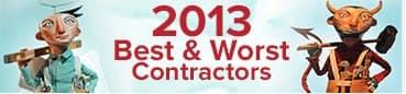 2013 Best & Worst Contractors
