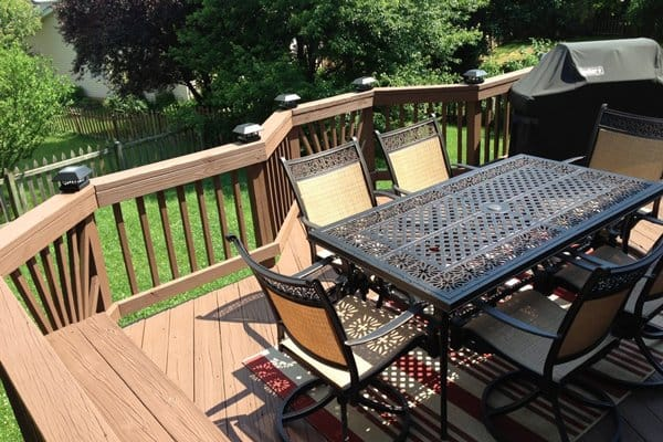 Regular professional deck maintenance can protect your deck from water damage and harmful UV rays, says Hydock. (Photo courtesy of Angie's List member Kevin D. of Washington)