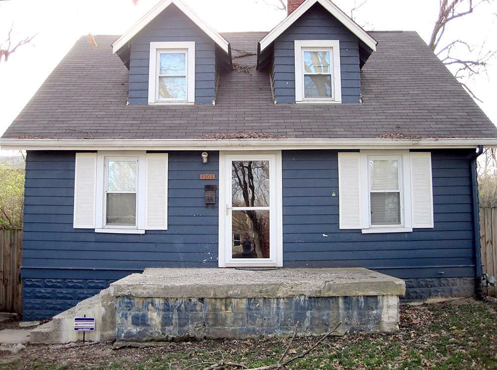 outdated home exterior