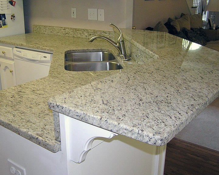 Granite Countertops For Less : Granite Kitchen Countertops Angies List