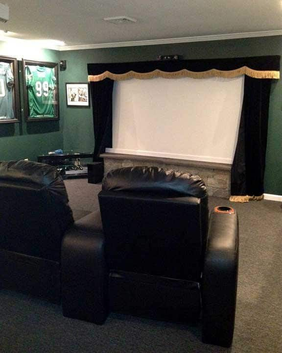 Home Theater Room Size: Photos: Home Theater Designs