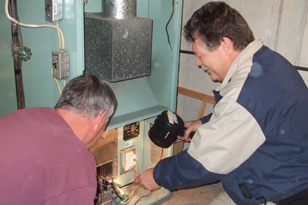 If a shortcut is taken in a new furnace installation, the service person likely won't tell a homeowner, but a home inspector will, says Howard. (Photo courtesy of Envirospect)