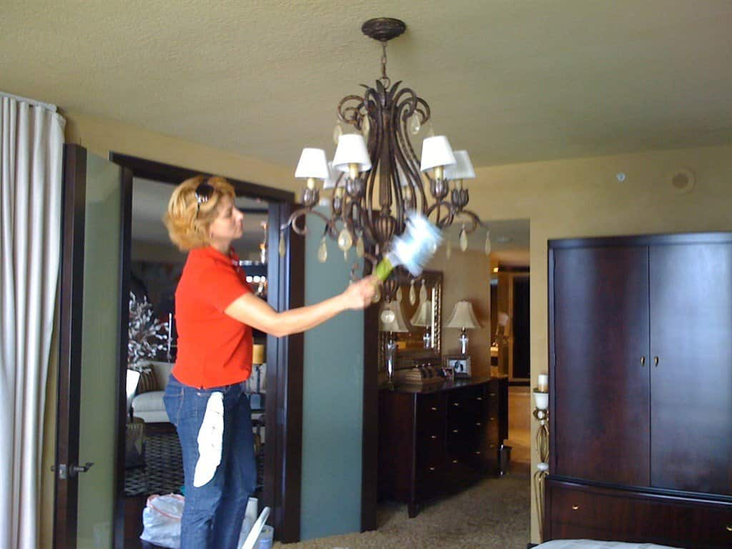 A professional house cleaner can take care of tasks you never get around to yourself. (Photo courtesy of Angie's List member Jane D., of Carmel, Indiana).