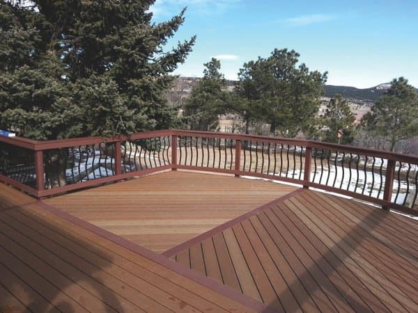 safety tips installing a deck