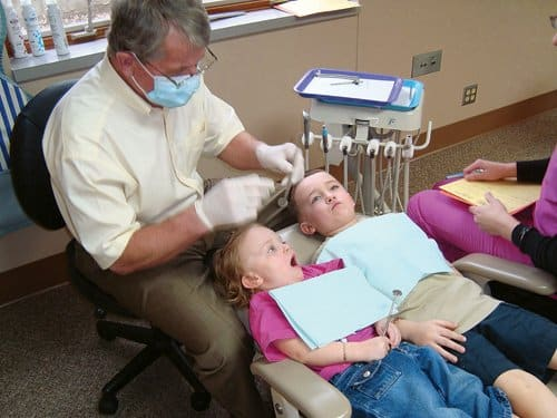 Teach your children that their dentist is a friend who will help keep their teeth clean and healthy. (Photo courtesy of Angie's List member Traci S.)