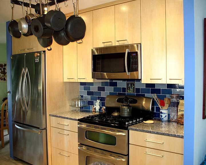 maple veneer kitchen cabinets