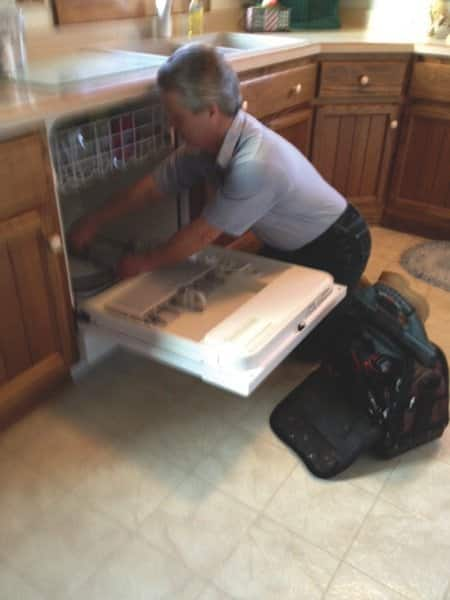 Jay Appliance Service owner Yesko says he believes his honesty and work ethic contribute to his large base of repeat customers. (Photo courtesy Jeff Yesko)