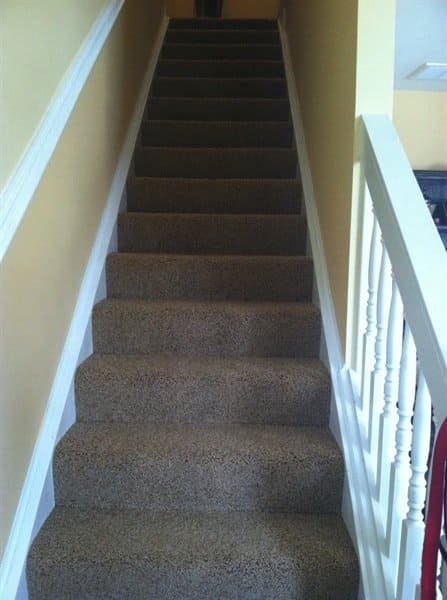 """This member chose a carpet company """"because of their high merits on Angie's List."""" (Photo courtesy of Angie's List member Caitlyn C. of Virginia Beach, Va.)"""