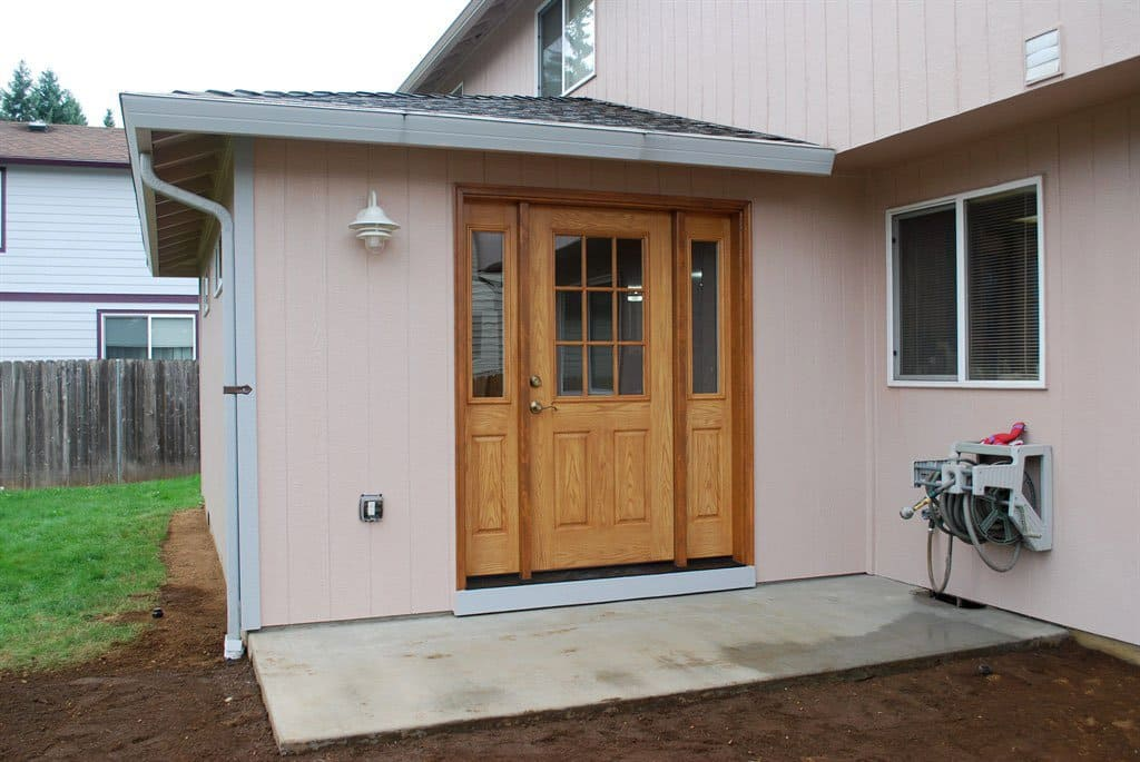One Angie's List member says her Portland-area door installers installed a pre-purchased door and provided wonderful service. | Photo courtesy of Juanita Biere