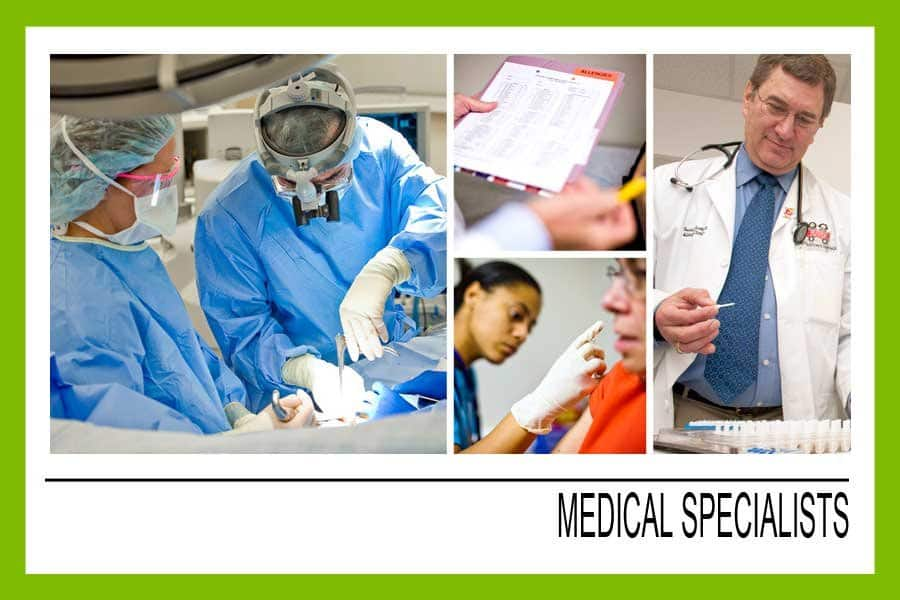 Urology medical specialists