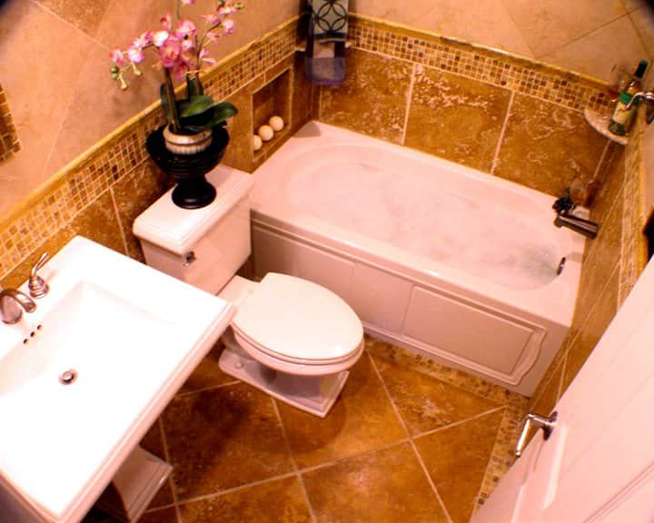 Bathroom remodels are one of the most popular renovations for homeowner's trying to sell their house. (Photo courtesy of Marcia Barry)