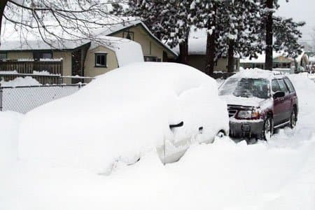 When you shovel your car out after a big snow . . . it would be nice if it starts.