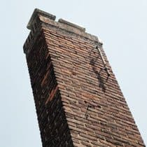 Chimneys should be cleaned and inspected every two years to reduce fire risk.